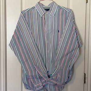 Ralph Lauren L Multi Color Striped Buttondown L